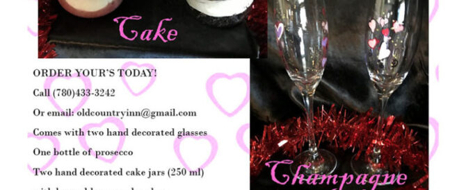 Cake and Champagne Poster