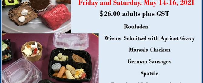 German Buffet New Price May13-14